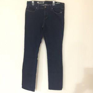 Madewell rail straight jeans 30x34